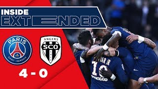 INSIDE [EXCLUSIVE FOOTAGE] 🎬 - PARIS SAINT-GERMAIN vs ANGERS