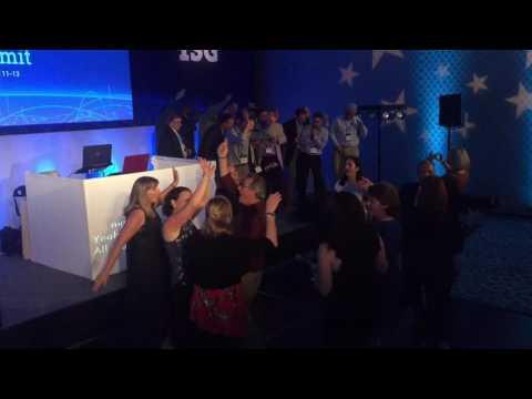 Memorable DJ Entertainment - Karaoke with DJ facade projection enhancement