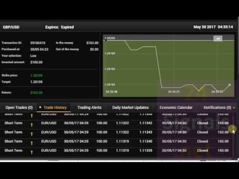managed binary option quant trading using machine learning