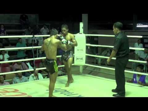 Fahkanong (Tiger Muay Thai) wins on points at Lanta Island Stadium