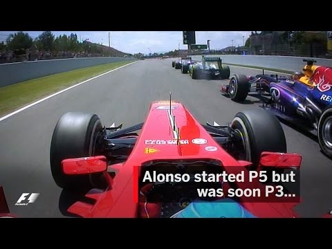 Alonso Wins In Spain After Epic Start   2013 Spanish Grand Prix