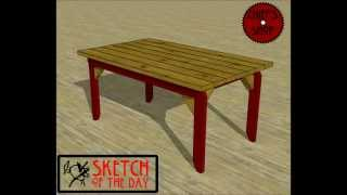 Chief's Shop Sketch Of The Day: Deck Table