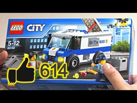 LEGO® City Polizei Geldtransporter 60142 unboxing speed build review 2017