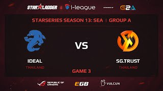iDEAL vs Signature.Trust, StarSeries 13 SEA, Game 3
