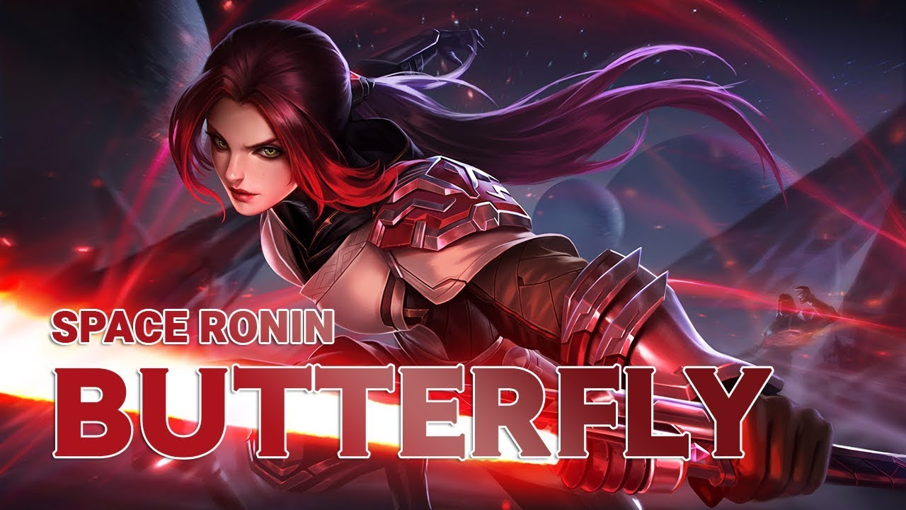 New Skin Space Ronin Butterfly Teaser Gameplay Video Aov Pro