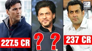 Shah Rukh BEATS Salman & Akshay, Becomes Highest Paid Actor | LehrenTV