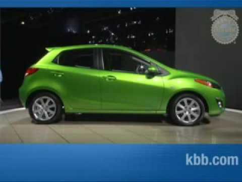 2011 Mazda2 Kelley Blue Book La Auto Show Youtube