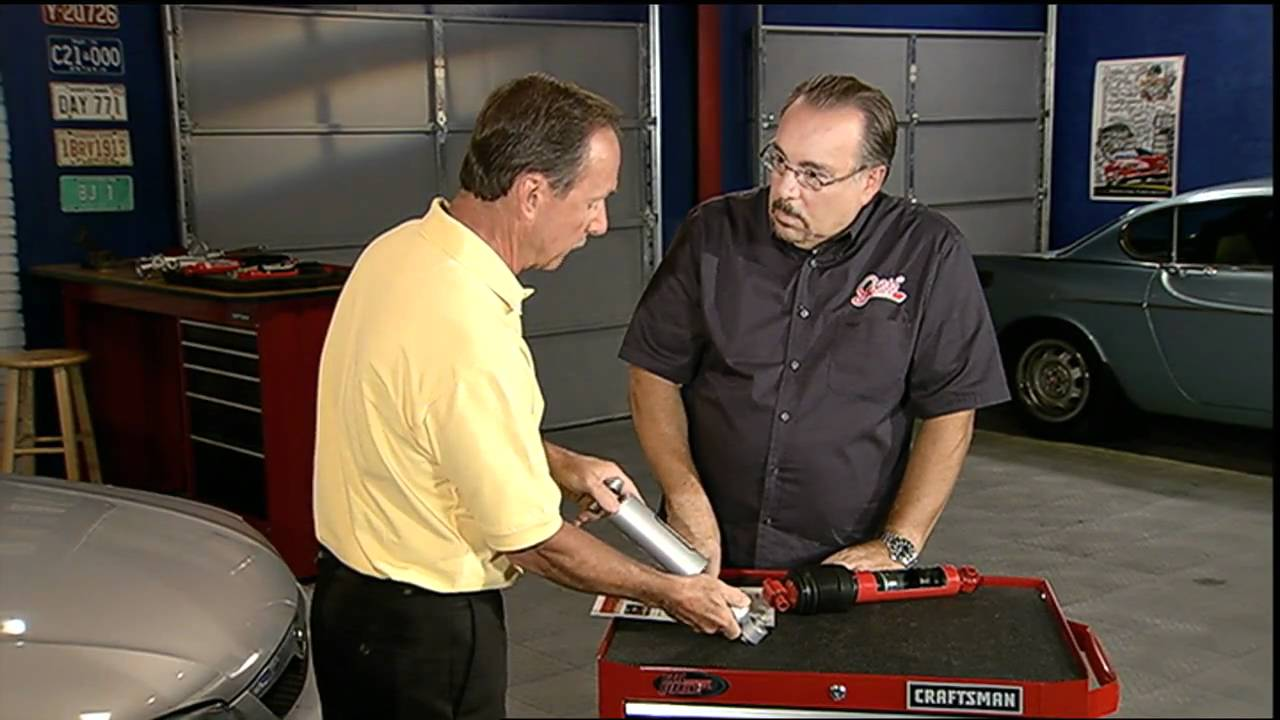 How to check the shock absorber