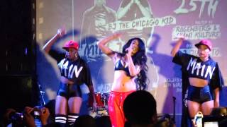 "Mila J performs "" Smoke Drink Break Up "" at SOBs for Hot 97 Who"
