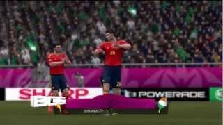 UEFA Euro 2012 Spain vs Republic Of Ireland Gameplay Match Prediction!