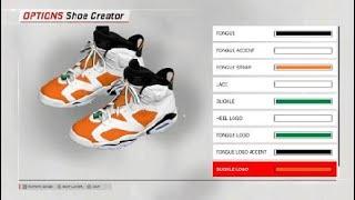 NBA 2k18 Shoe Tutorial Jordan 6s