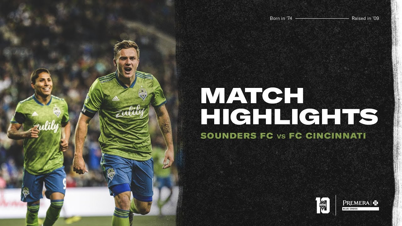 7394a80cd16 Seattle Sounders vs. FC Cincinnati: Highlights, stats and quotes - Sounder  At Heart