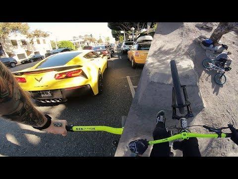 Sightseeing auf dem Walk of Fame und Dirt Jump in Los Angeles | Fabio Schäfer Vlog #125