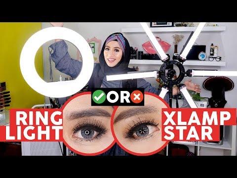 Rahasia Foto Video Bagus ala BeautyVlogger dan MUA! Review Ringlight dan XLamp!