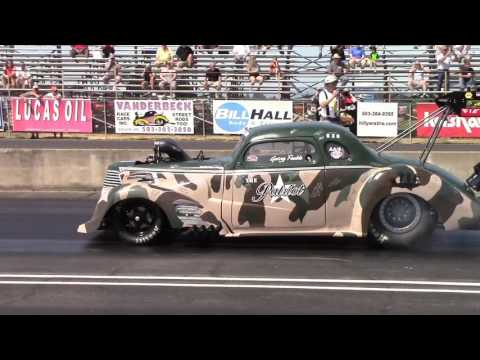 2015 AA/Supercharged Hot Rod Nationals Woodburn, OR