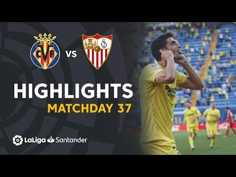 Villarreal Sevilla Goals And Highlights
