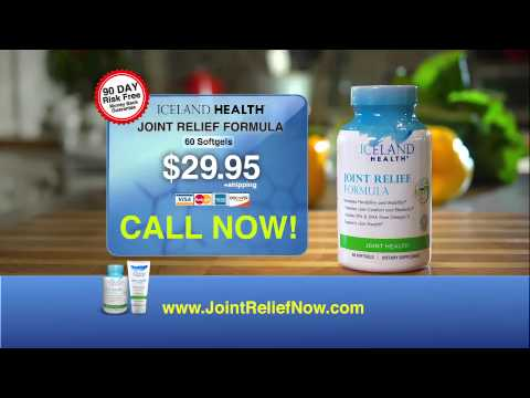 Dr. Brian Kaplan on Iceland Health Joint Relief Formula