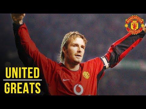 David Beckham - Manchester United Greats