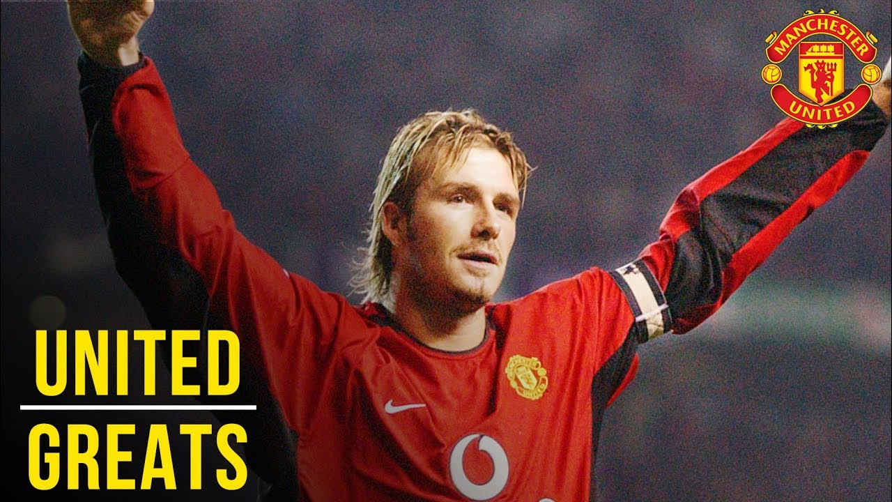 David Beckham Manchester United Greats