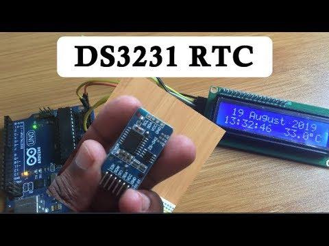 DS3231 RTC INTERFACING WITH ARDUINO