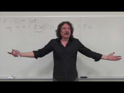 Category Theory II 4.2: The Yoneda Lemma