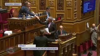 Sénat : les premiers pas de Michel Laugier (DVD)