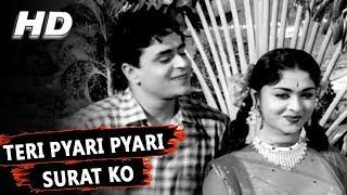 Teri Pyari Pyari Surat Ko   Mohammed Rafi   Sasural 1961 Songs   Rajendra Kumar