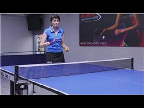 Table Tennis Ping Pong Shot Techniques