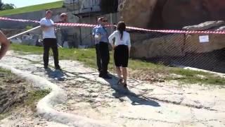 Заместитель Саакашвили устроила разнос людям экс-депутата Хмельницкого на пляже
