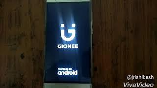 Gionee x1s hard reset process