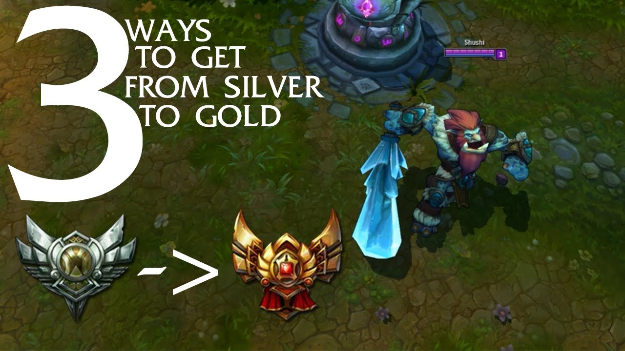 3 Tips To Get From Silver Gold