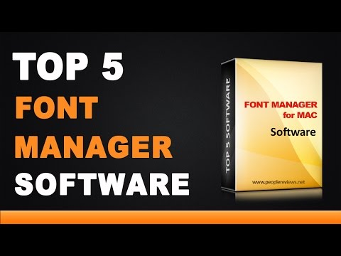 Best Font Manager For Mac Software - Top 5 List
