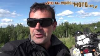 La vuelta al mundo en moto.com: Alaska