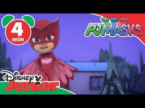 PJ Masks SuperPigiamini | I Lupetti volanti - Disney Junior Italia