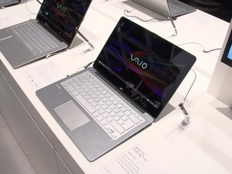 Sony Vaio Flip shows off its hinges in hands-on video