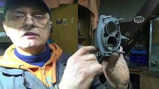 видео Пусковое устройство карбюратора Солекс