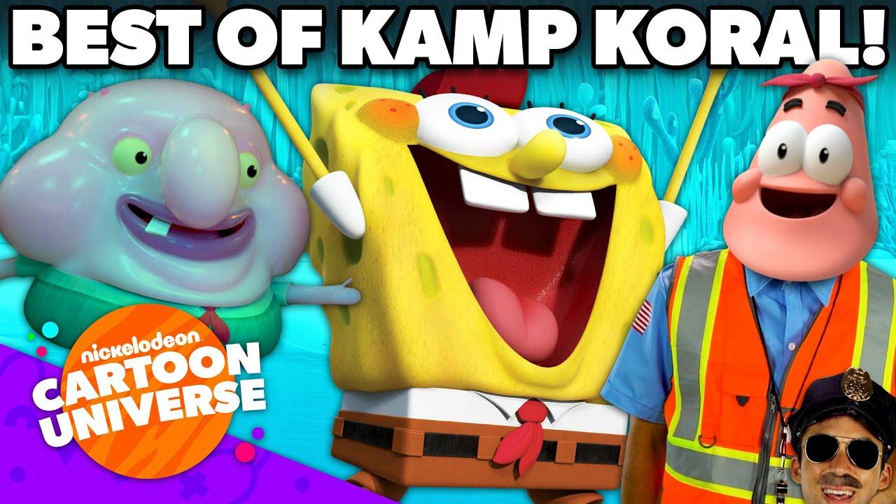 Best of Kamp Koral: SpongeBob's Under Years! 🤓 | Nickelodeon Cartoon Universe