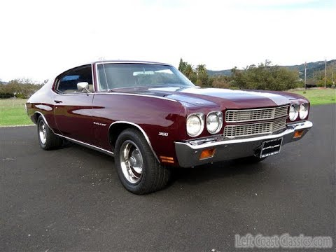1970 Chevrolet Chevelle Malibu Sport Coupe for Sale