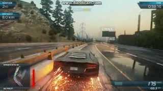 Need For Speed Most Wanted Gameplay (2012) Lamborghini Aventador vs. Bugatti