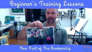 Beginner Painting Lessons added to The Membership
