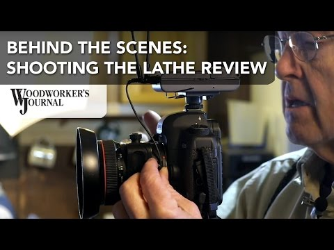 Behind the Scenes | Lathe Review Video Shoot