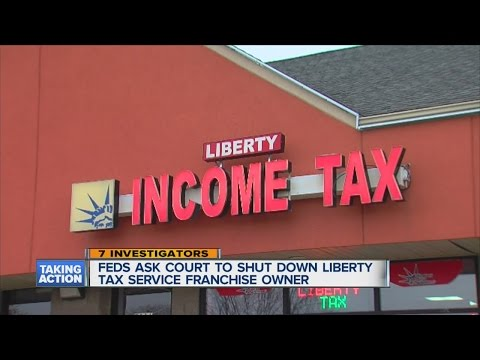 Feds go after tax preparer franchise owner