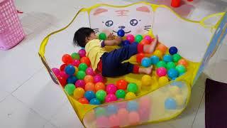 Tin chơi lều bóng - Cách gấp lều bóng cho bé