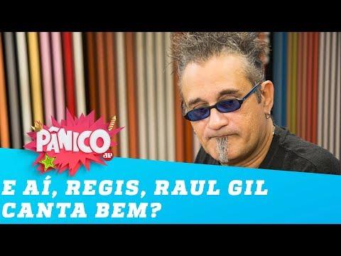 Regis Tadeu fala a VERDADE sobre o talento de RAUL GIL