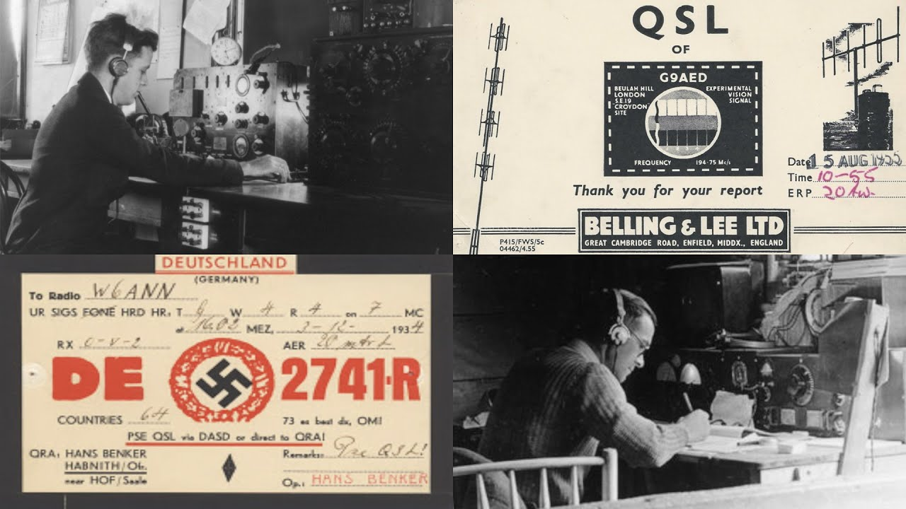 Secret G7's and Experimental G9's - Elusive Radio Callsigns From The Past