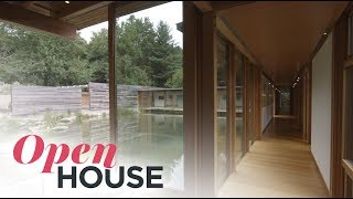 A Sustainable and Serene Residence by Cutler Anderson Architects | Open House TV