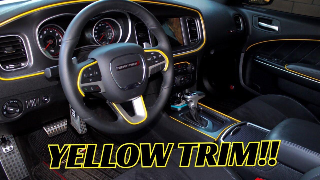 Dodge challenger interior mods - 2010 dodge charger interior trim ...