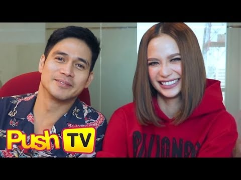 Piolo Pascual and Arci Munoz take on the 7 second challenge