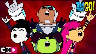 Vive le métal !!! | Teen Titans Go! | Cartoon Network