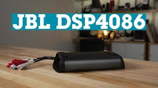 JBL DSP4086 8-channel car amp with digital signal processing